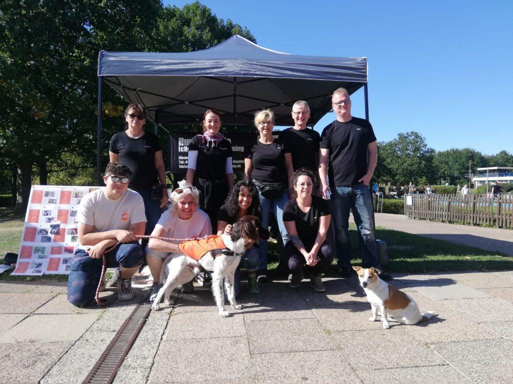 Hundeschwimmen 2019 Totobad Saarbrücken